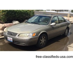 Used Toyata camry. 1999 made. very cheap price for cash sell