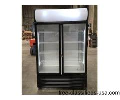 Glass Door Beer Cooler Beverage Flower Refrigerator