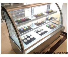 Bakery Pastry Deli Case Show Case Refrigerator Refrigerated