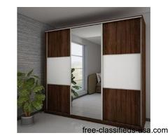 New Modern Brown Wardrobe
