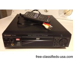 DVD Player with remote