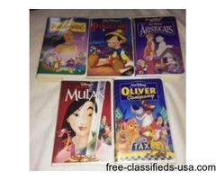 Masterpiece Walt Disney VHS
