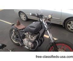 1982 Yamaha Maxum 650cc