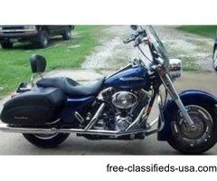 For sale. 2006 Harley Davidson Road King Custom. Only 16,000 miles
