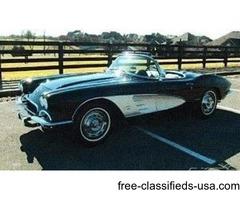 1961 Chevrolet Corvette C1 Convertible For Sale