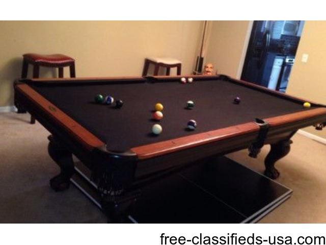 Brunswick Pool Table Garage Sale Bolingbrook Illinois - Pool table in garage