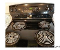 New Kitchen Stove and New Dishwasher