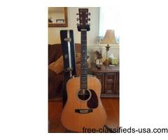 2 Martin Guitars