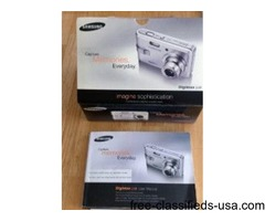 Samsung Digimax L60 Camera