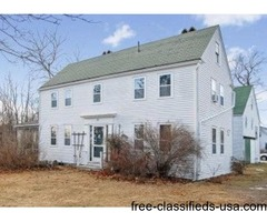 Just Listed! 1819 Antique Farmhouse for Sale in Eliot Village, Maine!