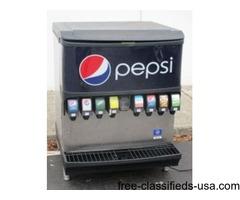 8 Flavor Fountain Machine with Top Loading Ice Bin