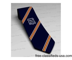 Avail Customized Corporate Logo Ties from Design Your Tie