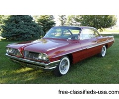 1961 Pontiac Ventura Bubble Top Tri-Power Coupe For Sale