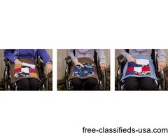 Wheelchair lapquilts