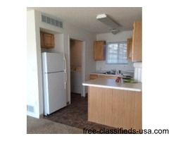 Spacious two bedroom apartment with in unit washer and dryer
