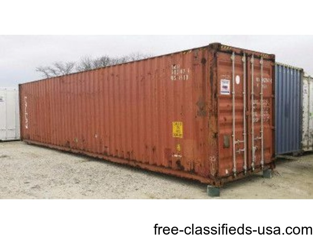 Conex Storage Containers Equipment for the Farm Salt Lake City
