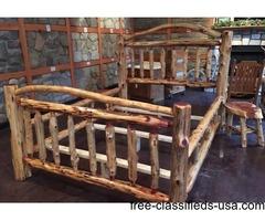 Handcrafted Cedar Bed - Queen
