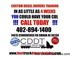 160hr CDL training courses offered