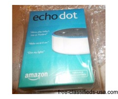 ECHO DOT 2ND GENERATION, BRAND NEW