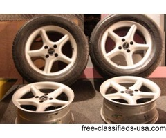 Mustang Wheels 16x8 Aluminum Fox Body