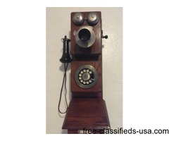 The Americana Circa 1882 telephone is certified by the Edison Instute's