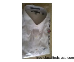 MEN'S TOMMY HILFIGER WHITE DRESS SHIRT-NEW
