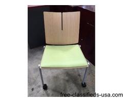 Quanta Rolling Side Chair by Versteel
