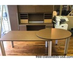 Showroom Sample Cherryman Verde Laminate Table Desk