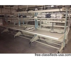 Huge Assortment of Preowned Lab Benches