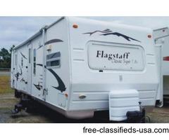 2008 Flagstaff Classic Super Lite Travel Trailer Model 831FKSS