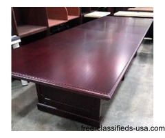12' Traditional Conference Table