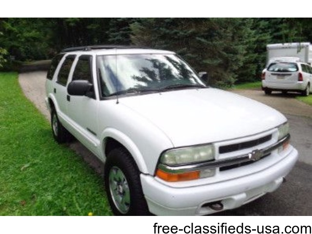 2003 chevy blazer 4x4 southern vehicle cars new castle pennsylvania announcement 52109 2003 chevy blazer 4x4 southern vehicle