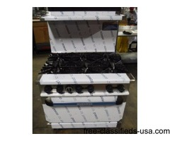 """NEW RADIANCE GAS 36"""" Stove range 6 burners with oven,restaurant equipment"""