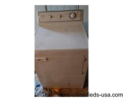 Gas dryer for sale