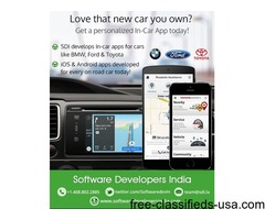 In-car apps for Android and iOS