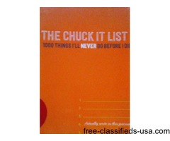 THE CHUCK IT LIST