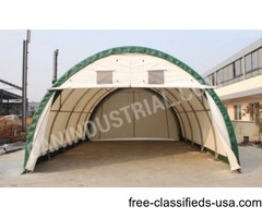 20x30x12ft portable pole barn storage building w/ cover