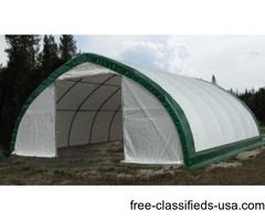 40x80x20ft. H portable pole barn/agriculture, storage building