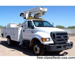 2009 Ford F650 With Versalift Bucket