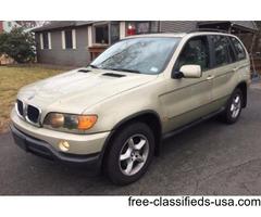1 OWNER 2002 BMW X5 3.0 AWD