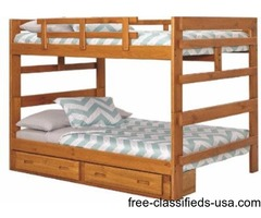 Bunk Bed Full Over Full All Wood