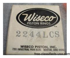 Wiseco Piston Rings 2244LCS 1976 Suzuki RM125