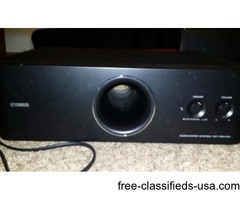 Yamaha YSP-5100 Sound Bar and Subwoofer