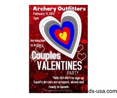 Introduction to Archery - Couples Valentines Party