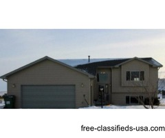 Move-in ready home on ½ acre just minutes South of Rapid City!