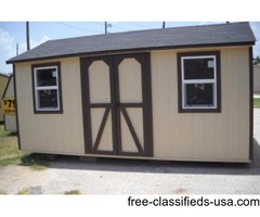 10 x 16 STORAGE BUILDING ... BUILT ON SITE