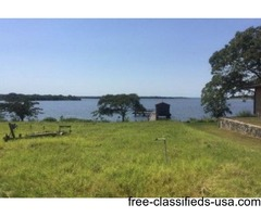Waterfront Lot, great view, all utilities on property