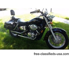 2000 Honda Shadow ACE Deluxe VT750CD2