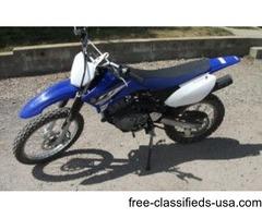 2015 Yamaha TTR125 Dirt Bike