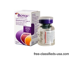 Buy Juvederm, Radiesse, Restylane, Botox 100 IU,